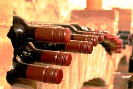 wine storage on the side