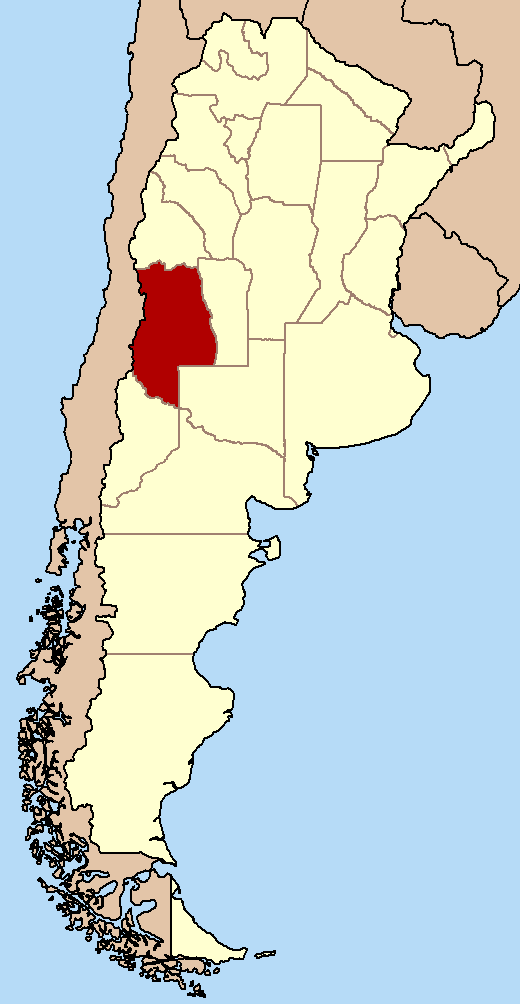 Wines From Argentina The Small Winemakers Collection - Argentina map small
