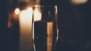 A glass of Champagne is a great sparkling wine option to celebrate many wonderful occasions.